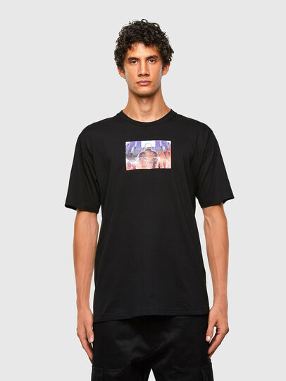Diesel - T-TUBOLAR-N2, Noir - T-Shirts - Image 1