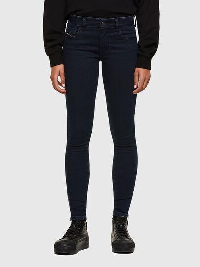 Diesel - Slandy Low 009PV, Dark Blue - Jeans - Image 1