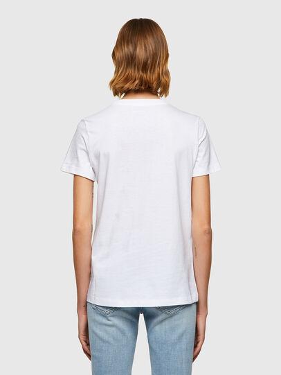 Diesel - T-SILY-B8, Blanc - T-Shirts - Image 2