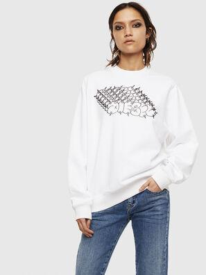 F-ANG-S2, Weiß - Sweatshirts