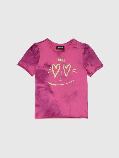 Diesel - TINTDB-R, Rose - T-shirts et Hauts - Image 1