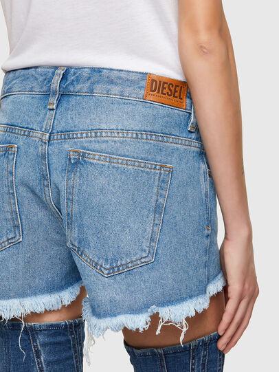 Diesel - DE-RIFTY, Blu Chiaro - Shorts - Image 4