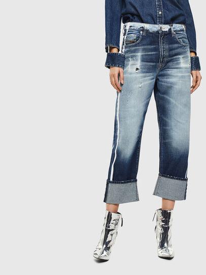 Diesel - D-Reggy 0096S, Mittelblau - Jeans - Image 1