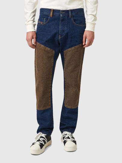 Diesel - D-Viker 0AFAK, Dark Blue - Jeans - Image 1