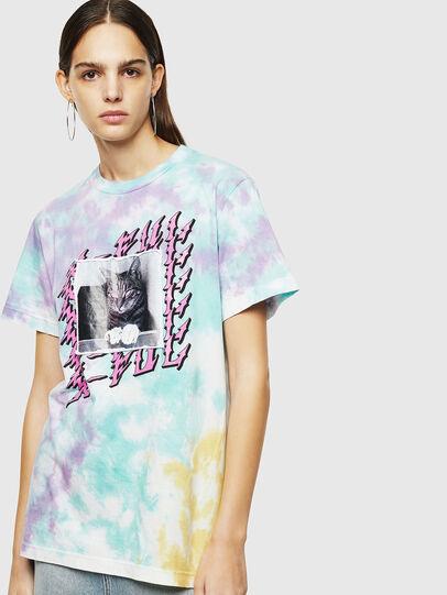 Diesel - T-DARIA-M, Bunt - T-Shirts - Image 1