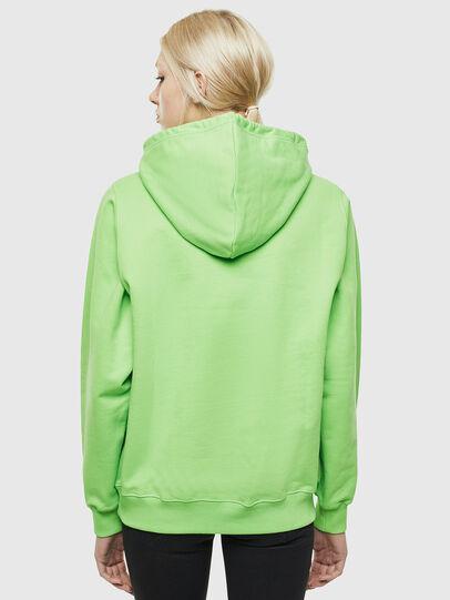 Diesel - F-ANG-HOOD-J1, Neongrün - Sweatshirts - Image 2