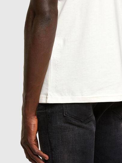 Diesel - T-DORYMO-A1, Blanc - T-Shirts - Image 3
