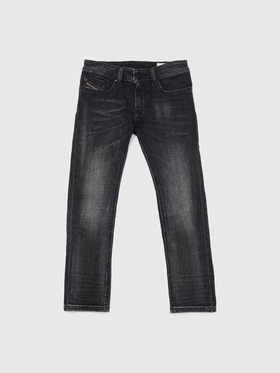 Diesel - SLEENKER-J JOGGJEANS-N, Nero/Grigio scuro - Jeans - Image 1