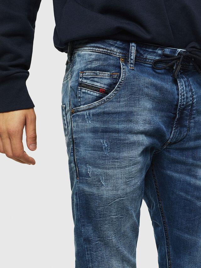 Diesel - Krooley JoggJeans 0685I, Mittelblau - Jeans - Image 3