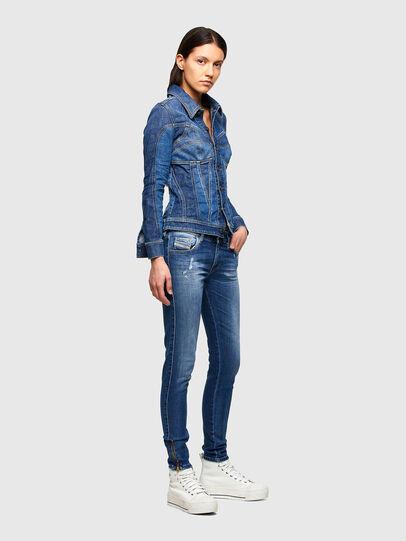 Diesel - Slandy Low 009PU, Bleu moyen - Jeans - Image 6
