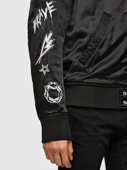 Diesel - J-SMOKED, Black - Jackets - Image 6