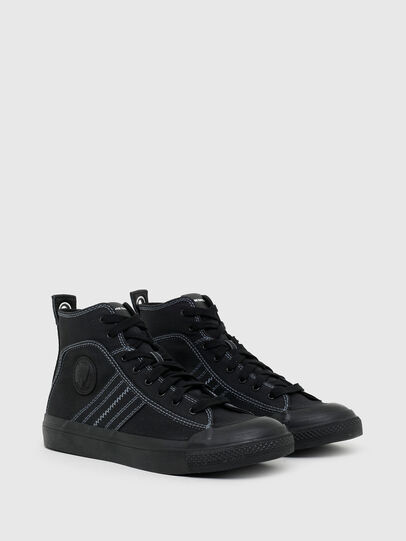 Diesel - S-ASTICO MID LACE, Nero - Sneakers - Image 2