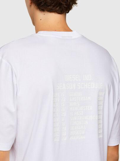 Diesel - T-GORAN-A1, Bianco - T-Shirts - Image 3