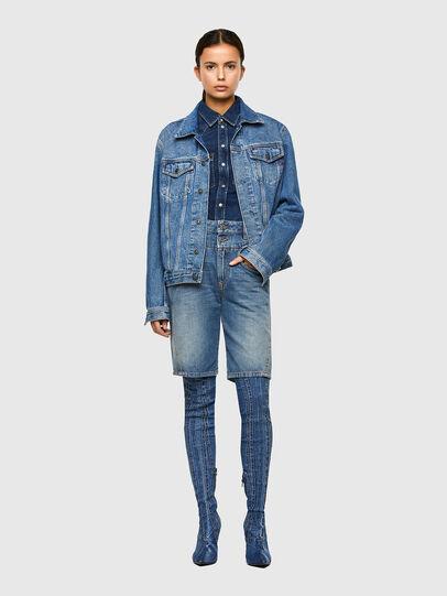 Diesel - DE-REGY-SP, Bleu Clair - Shorts - Image 5