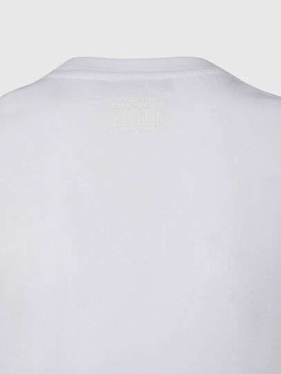 Diesel - T-SILY-E53, Weiß - T-Shirts - Image 4