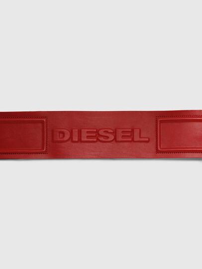 Diesel - B-INO, Feuerrot - Gürtel - Image 4