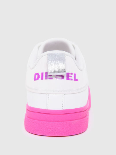 Diesel - S-CLEVER LOW LACE W, Blanc/Rose - Baskets - Image 6
