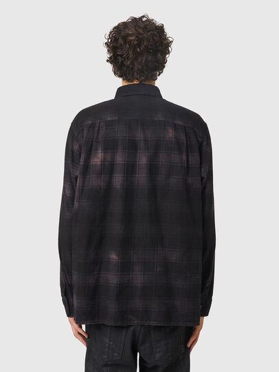 Diesel - S-JESS-DIP, Noir/Violet - Chemises - Image 2