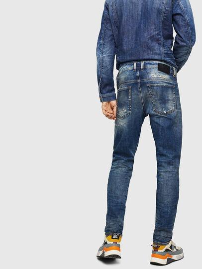 Diesel - Thommer JoggJeans 0870Q, Mittelblau - Jeans - Image 2
