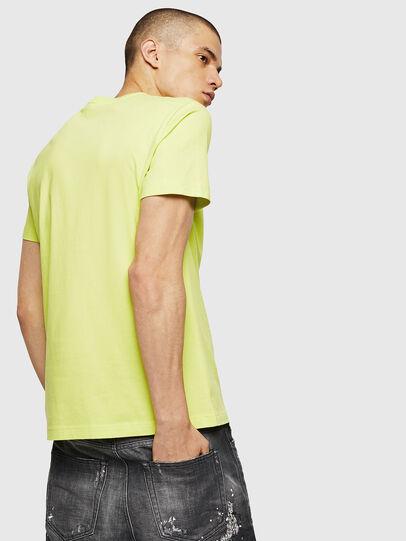 Diesel - T-DIEGO-B6, Neongelb - T-Shirts - Image 2