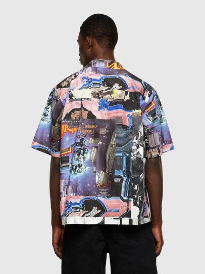 Diesel - S-DOOMY, Bleu/Rose - Chemises - Image 2
