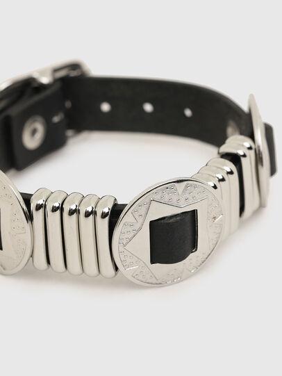 Diesel - A-FLOWE, Black/Silver - Bijoux and Gadgets - Image 2