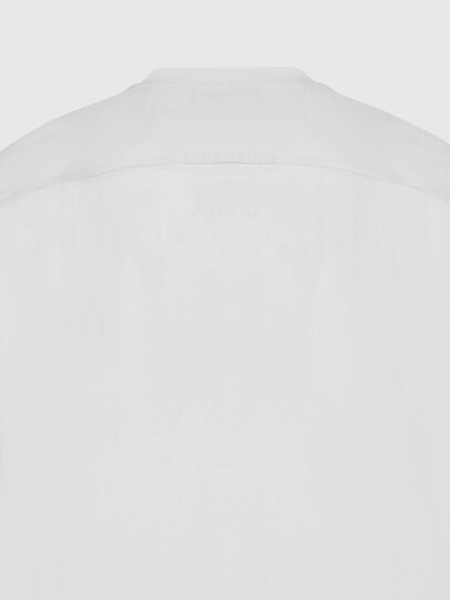 Diesel - T-TASK-SLITS, Weiß - T-Shirts - Image 4