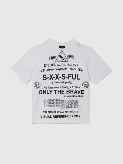 Diesel - TBALLX2 OVER, Weiß - T-Shirts und Tops - Image 1
