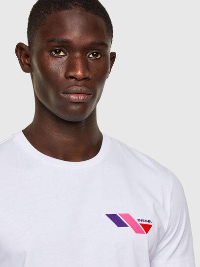 Diesel - T-DIEGOS-K11, Blanc - T-Shirts - Image 3