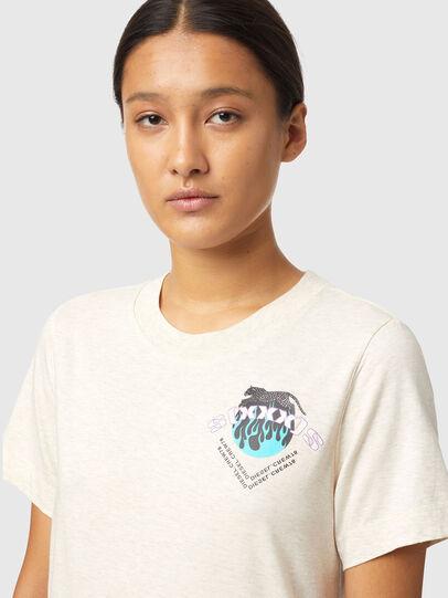 Diesel - T-LILLY-B1, Blanc - T-Shirts - Image 3