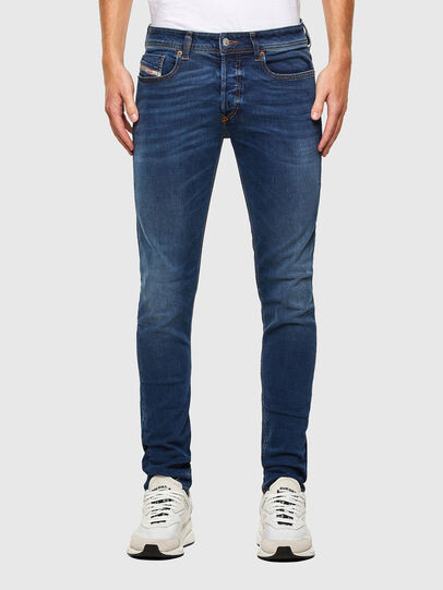 Diesel - Sleenker 009LX, Hellblau - Jeans - Image 1
