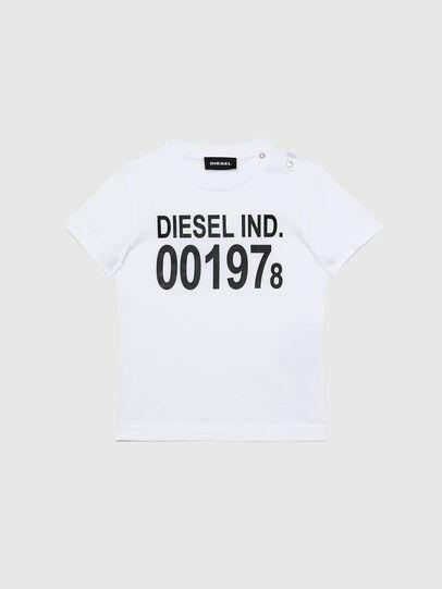 Diesel - TDIEGO001978B, Weiss/Schwarz - T-Shirts und Tops - Image 1