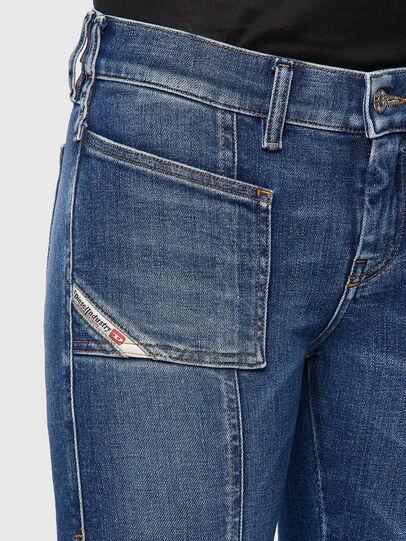 Diesel - Slandy 009ZW, Blu medio - Jeans - Image 4