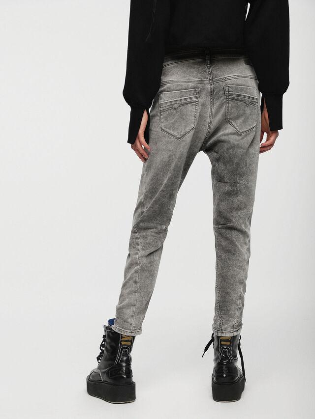 Diesel - Fayza JoggJeans 0855B, Hellgrau - Jeans - Image 2