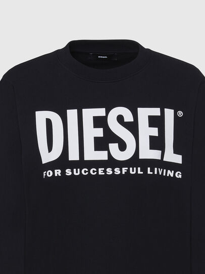 Diesel - F-ANG, Black/White - Sweaters - Image 3