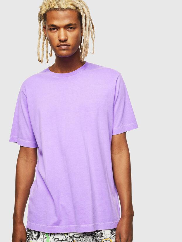 T-JUST-SLITS-FLUO, Lila - T-Shirts