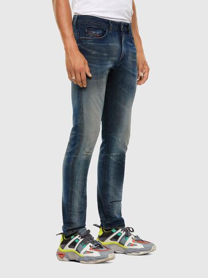 Diesel - Thommer 009FL, Mittelblau - Jeans - Image 5