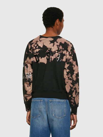 Diesel - F-FABLE, Black/Pink - Sweaters - Image 2