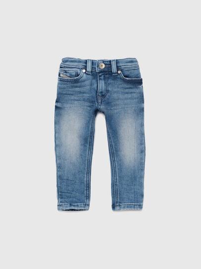 Diesel - SLEENKER-B JOGGJEANS-N, Mittelblau - Jeans - Image 1