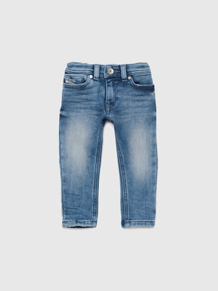 SLEENKER-B JOGGJEANS-N, Mittelblau - Jeans