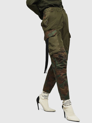 P-THENA-A, Camouflagegrün - Hosen
