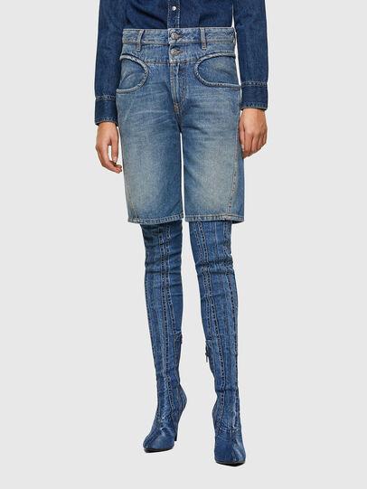 Diesel - DE-REGY-SP, Blu Chiaro - Shorts - Image 1