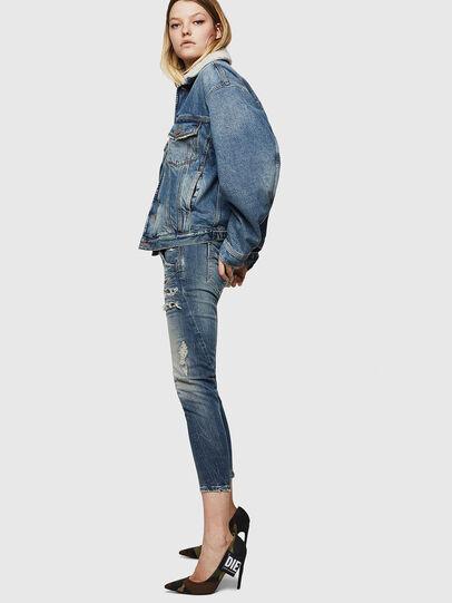 Diesel - Fayza JoggJeans 0890A, Hellblau - Jeans - Image 3