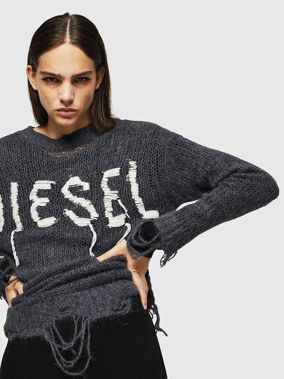 Diesel - M-ANDREA, Grau - Strickwaren - Image 4