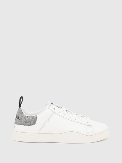 Diesel - S-CLEVER LOW LACE W, Weiß/Silber - Sneakers - Image 1
