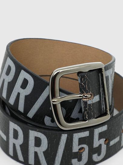 Diesel - B-ARBARANO II, Gris/Noir - Ceintures - Image 2