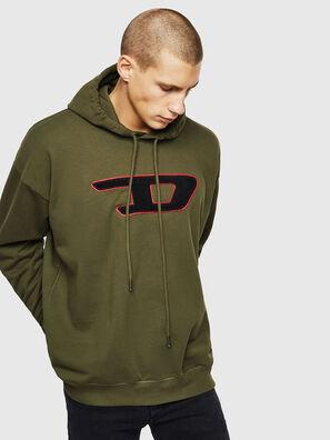 S-DIVISION-D, Armeegrün - Sweatshirts