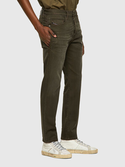 Diesel - D-Fining-Chino 0699P, Verde Militare - Jeans - Image 4