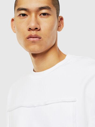 Diesel - S-BAY-RAW, Weiß - Sweatshirts - Image 3