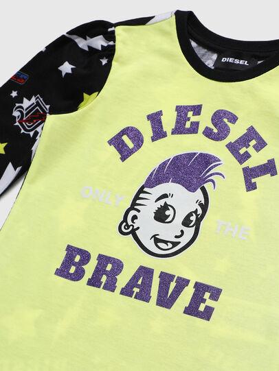 Diesel - TULLAB-R, Schwarz/Gelb - T-Shirts und Tops - Image 3
